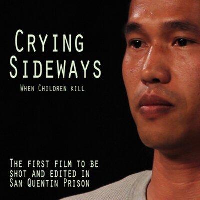 crying sideways